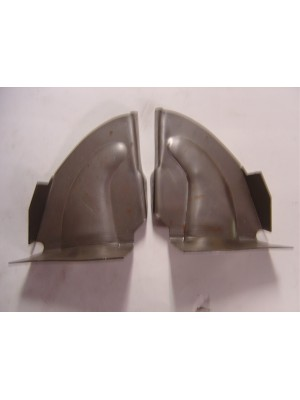 A-55068  Open Car Cowl Post Inner Braces- Pair- 1928-1929 Roadster, Roadster Pickup and Phaeton