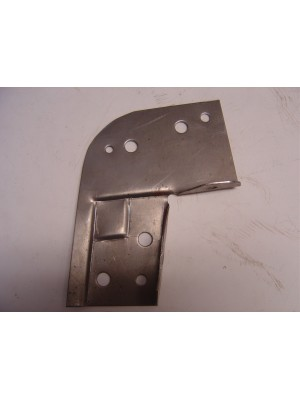 "A-55094-D   1928-1929 Pickup ""L"" Brackets at top of door post. Holds the side wood rails to the front door posts- Pair- USA Made"