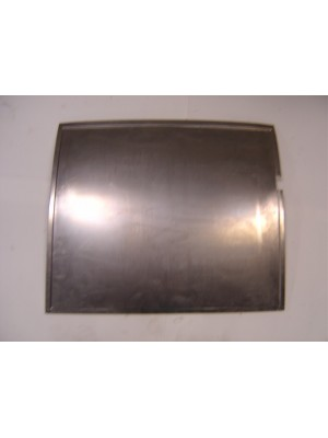A-70041-CR  Right door skin for the 1928-1929 Ford Model A Pickup only- Steel skin from belt rail to bottom of door