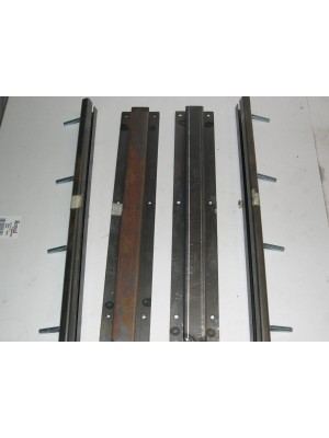 A-70122  Seat Slider Set-1931 Slant 4 Door Sedans