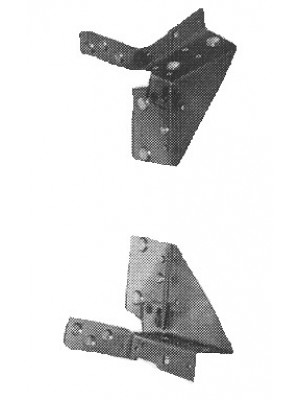 A-70140  Windshield header brackets-pair
