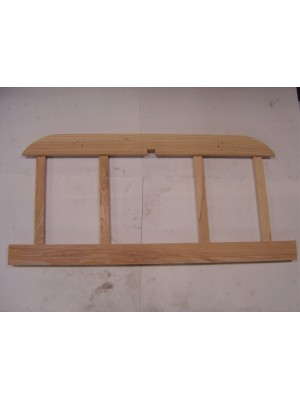 A-82507  Seat Frame Wood-All  Tudor Sedan- Rear Backrest Wood
