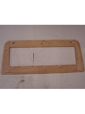 A-82510  Seat Frame Wood- Victoria  Rear Lower Cushion Wood