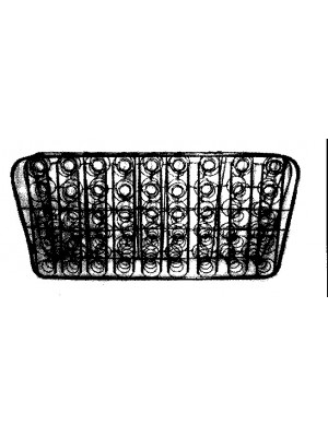 A-85304 Seat Spring-1928-1929 Coupe-Rumble Backrest spring