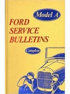 A-99010  Model A Service Bulletens