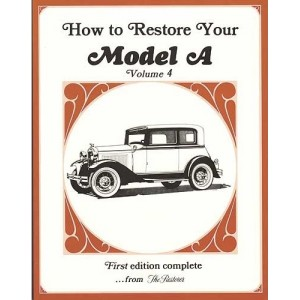 A-99018  How To Restore The Model A Volume 4