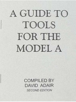 A-99040  Model A Tool Identification Book