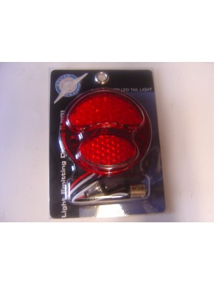 A-13415-R LED Conversion for tail lights. 6 volt ALL Red Right side (w/o license light)