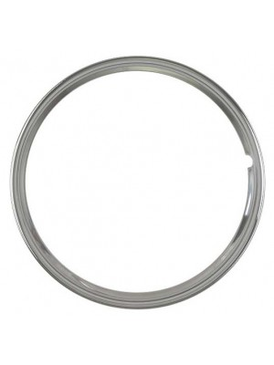 A-1132-B Stainless Steel Trim Ring for 16 inch wheels- Plain