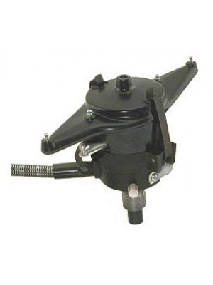 A-12096-A  6 Volt Zipper-  Stock Looking Distributor With Electronic Ignition