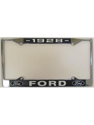 A-13406-FA  License Plate Frame- 1928