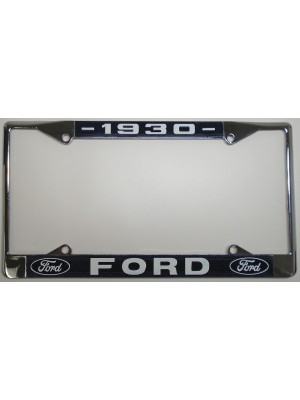 A-13406-FC  License Plate Frame- 1930