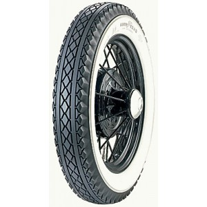 A-1504  Goodyear 19 Inch  Whitewall Tire