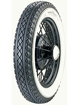A-1500-G  Goodyear 4.50 x 21 Whitewall Tire- USA Made