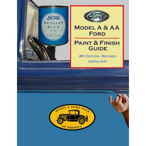 """A-99034-B """"New"""" Revised 4th Edition Paint & Finish Guide"""