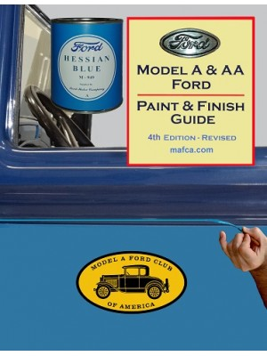 "A99034B ""New"" Revised 4th Edition Paint & Finish Guide"